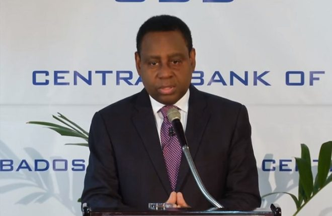 Barbados Central Bank Governor Reports Progress But Says Growth Will be Slow