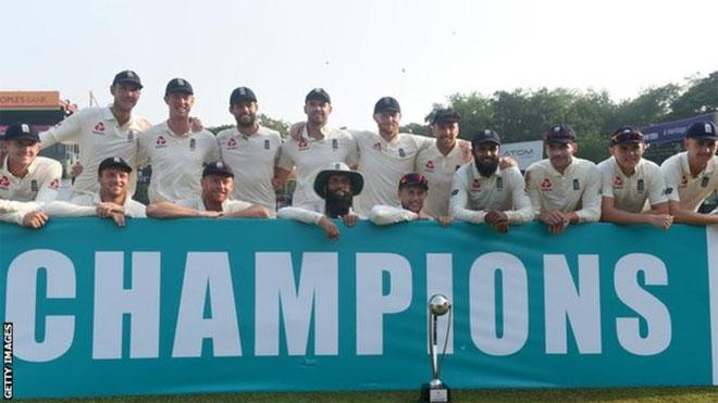 Sri Lanka v England: Tourists hold nerve to secure series whitewash