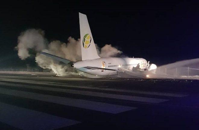 10 Injured as Plane Crash Lands at Airport in Guyana