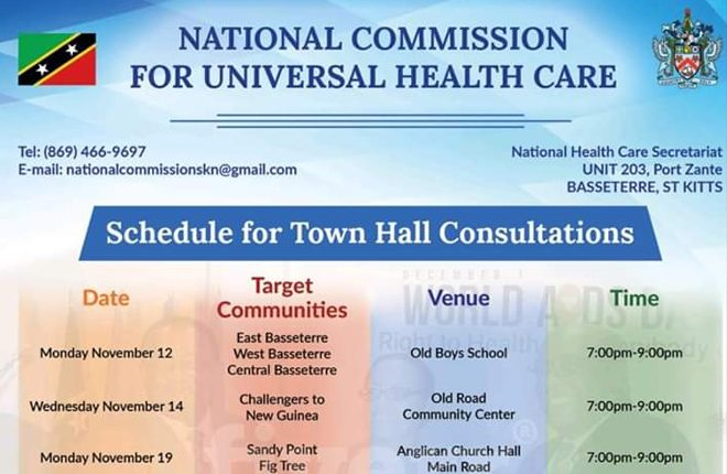 Universal Healthcare Town Hall Meeting Continued in Sandy Point on Monday November 19