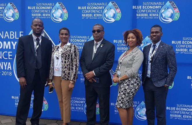 St. Kitts And Nevis Represented At First Global Sustainable Blue Economy Conference In Nairobi Kenya