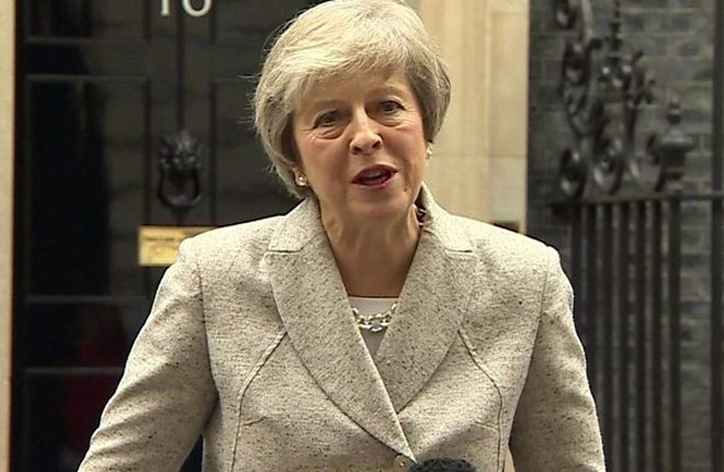 Brexit: Draft agreement on future relationship right for UK, says May