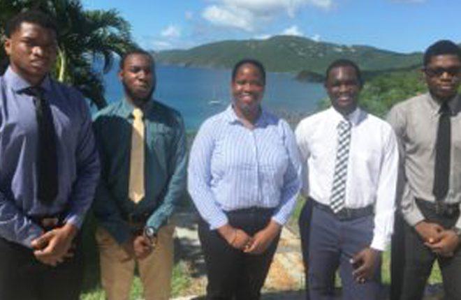 Kittitian Students a UVI Win HP Business Challenge