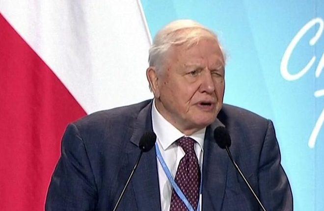 Sir David Attenborough: Climate change 'our greatest threat'