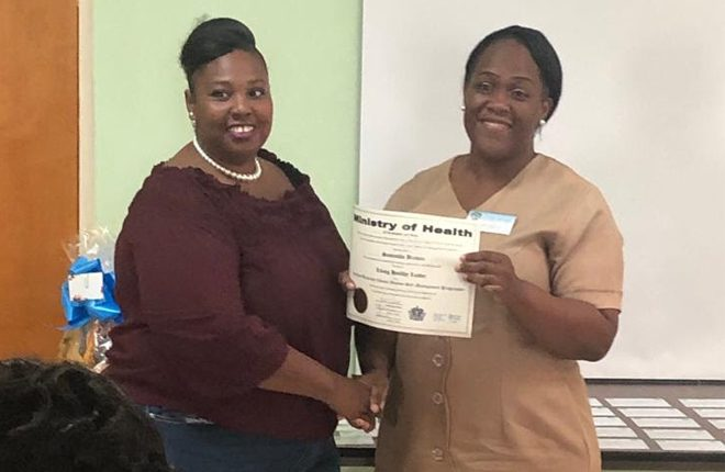 New cadre of living healthy leaders in St. Kitts – Nevis trained to help persons manage chronic conditions
