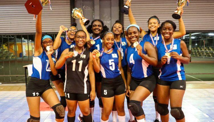 Saint Lucia's winning 2019 ECVA U21 Women's Team