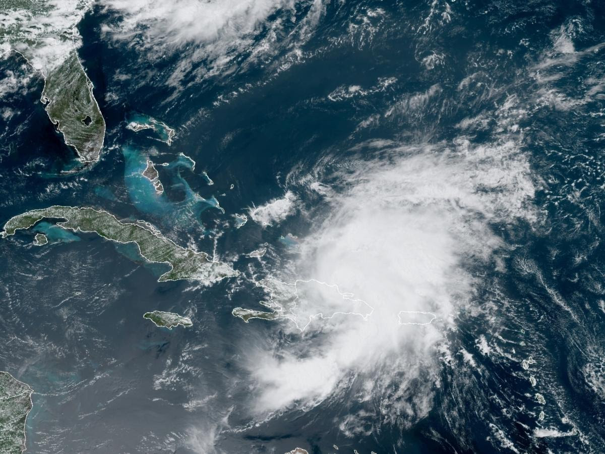 Tropical Storm Isaias Moves Through The Caribbean