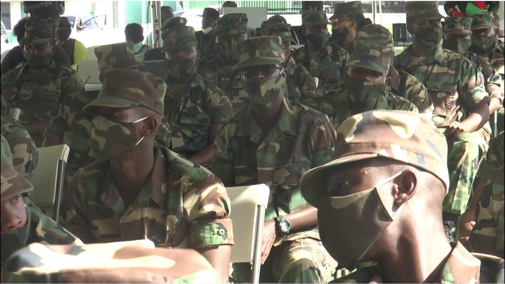 Defense Force Closing Ceremony