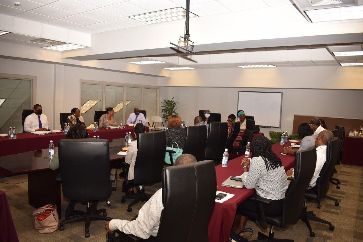 Meeting of Permanent Secretaries on St. Kitts on Thursday, October 08