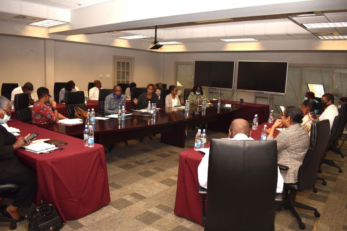 Meeting of Permanent Secretaries on St. Kitts on Thursday, October 08 2