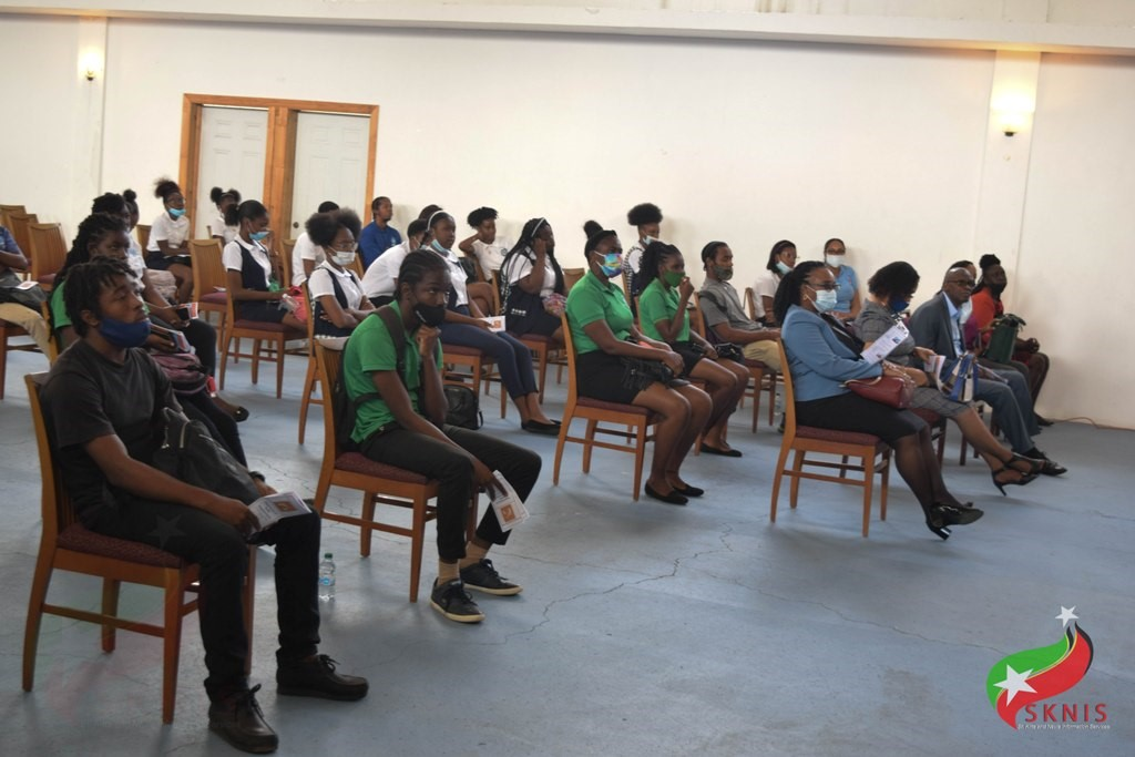 A section of students in attendance at the launch
